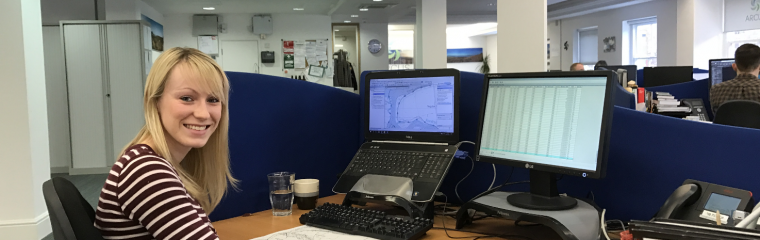 Katie Emmitt reflects on the first 6 months of her Year in Industry placement
