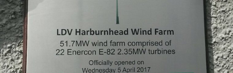 Harburnhead Windfarm Inauguration Event