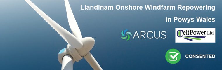 Llandinam Onshore Windfarm Repowering in Wales Approved